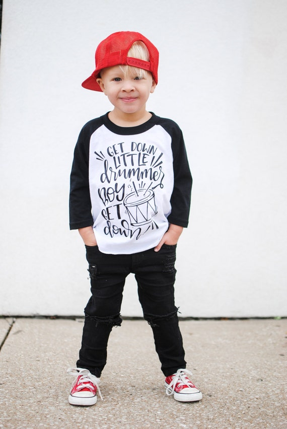 Little Drummer Boy Christmas Shirt Boys Christmas Shirt Etsy