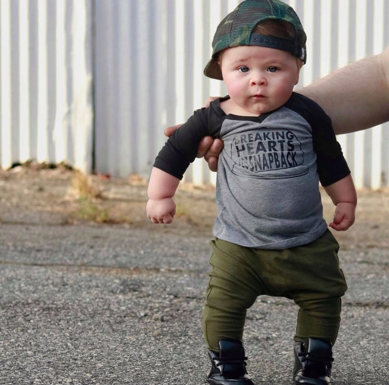1f6094a28529 Snapback t shirt dope baby boy outfits toddler snapback