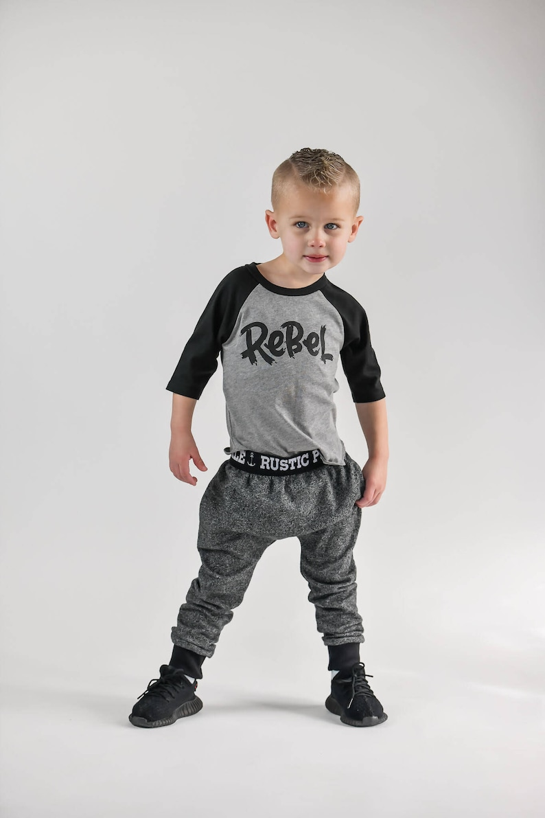 27fe5f69e Rebel kids tee rebel child rebel shirt for kids trendy