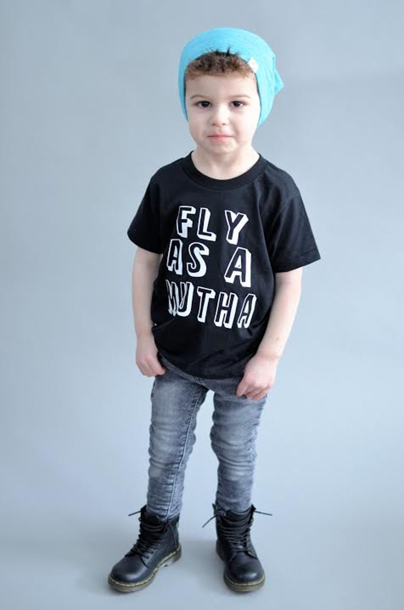 Fly guy shirt fly as a mutha toddler boy clothes funny boy  000417dc6c