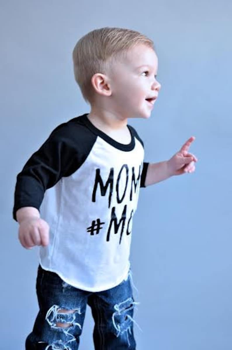 e50569761 BOYS Baseball Raglan toddler boy boy MCM man crush monday