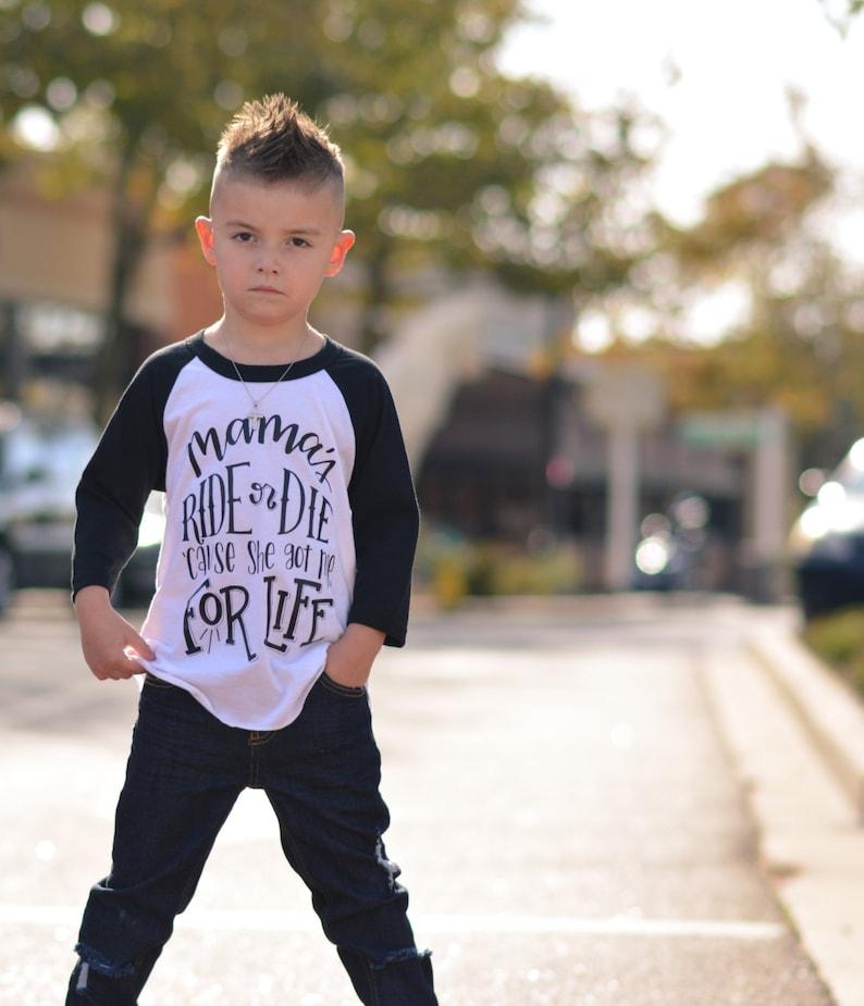 cca91d59b257 Mama s ride or die shirt mama s boy shirt stylish
