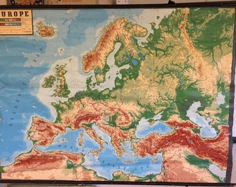 Wall Map - Europe