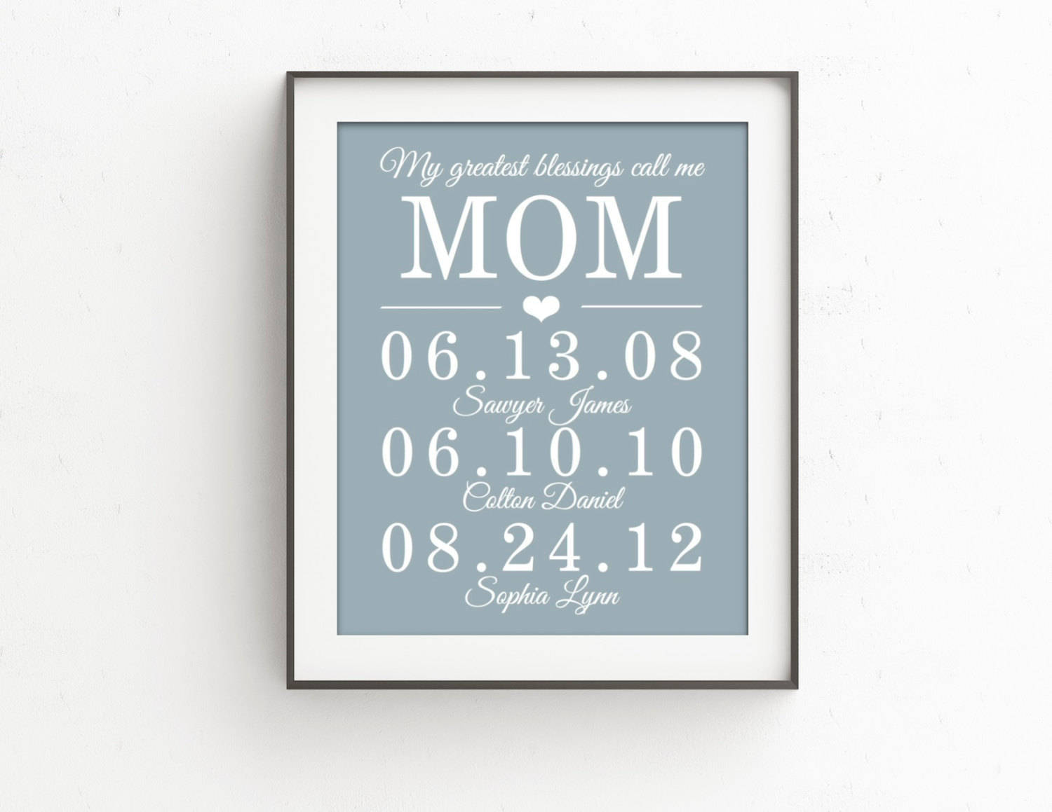 Mothers Day Gift Personalized From Daughter