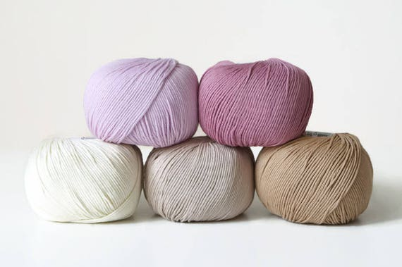 31 50g Beige DMC Natura Medium Just Cotton Yarn