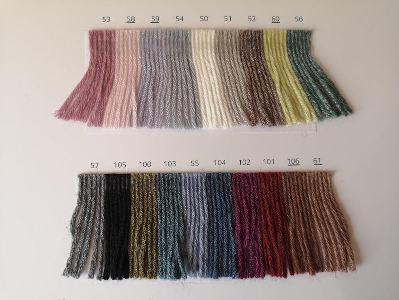 Knitting yarn Concept by Katia Tencel-Merino 50 g 135 m a blend of lyocell and merino wool crochet yarn