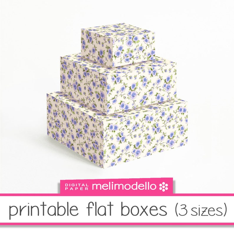 photograph relating to Printable Boxes referred to as Tiny Printable bins \