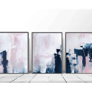 abstract wall art etsy
