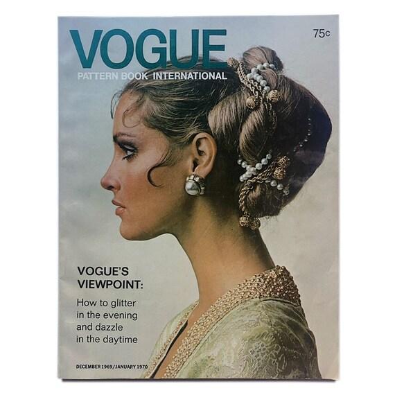 Vogue International Pattern Book, December 1969 / January 1970.