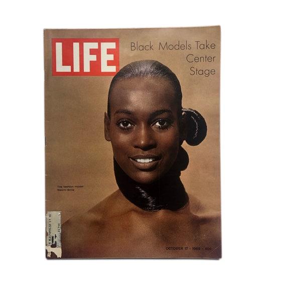 Life Magazine, Oct. 17, 1969 - Black Models Take Center Stage edition.