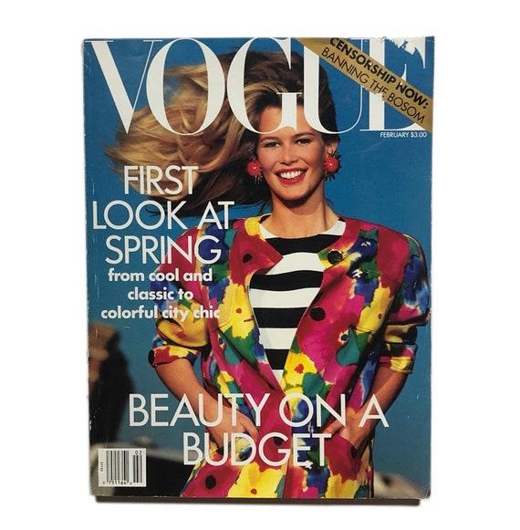 Vogue, February 1991.
