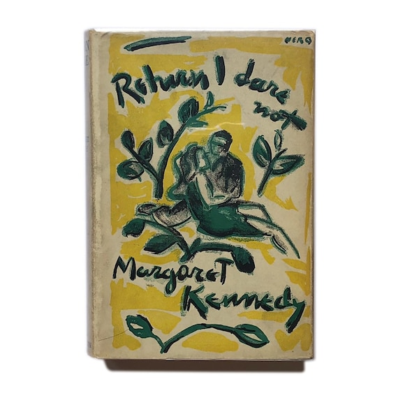 First edition of Return I Dare Not, 1931. Dust jacket illustration by Nero.