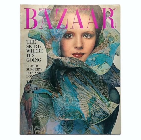 Harper's Bazaar, July 1970.