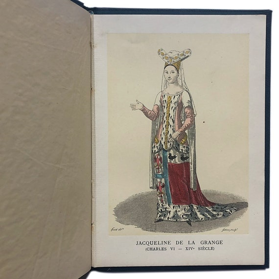 Modes Anciennes, a promotional book of fashion plates by Fourrures Max, 1908.