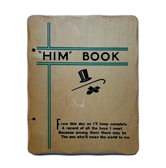 "The ""Him"" Book set of journal covers, 1930s-1940s."