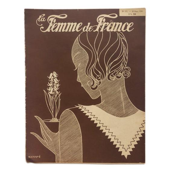La Femme de France, March 30, 1930.