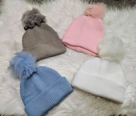 STOCK CLEARANCE Personalised pom pom hat  58aead5932c