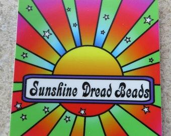 Sunshine Dread Beads Stickers!