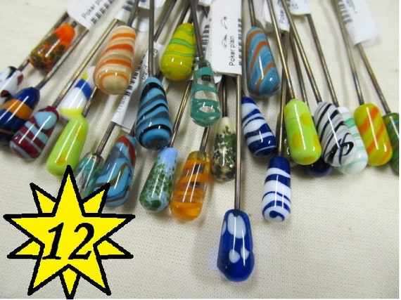 12 Assorted Pokers, Pipe cleaners, Plant Sticks, Stainless Steel Fairy Garden Decorations
