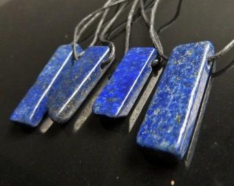 Lapis Necklace, Lapis Pendant, Natural Gemstone Jewelry, Crystal necklace, Chakra necklace, Healing crystal jewelry, Lapis Lazuli