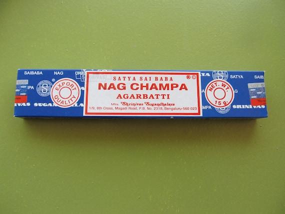 Nag Champa 15g Satya Sai Baba, The best incense in the world