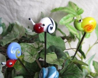 poker / fairy garden decoration snail