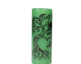 Bonsai Tree of Life Dread Bead - CUSTOM Color & Hole Size - Glass Dreadlock Bead, Loc Accessories, Dread Jewelry, 5V001 MTO