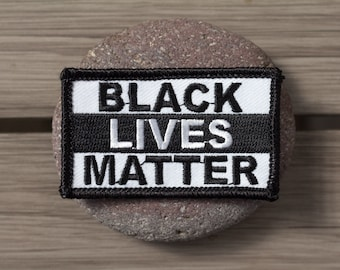Black Lives Matter Patch BLM Protest March Jackets Backpacks Hats - Proceeds Donated!
