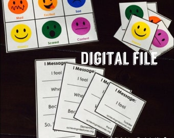 File - Emotion & I Message Game