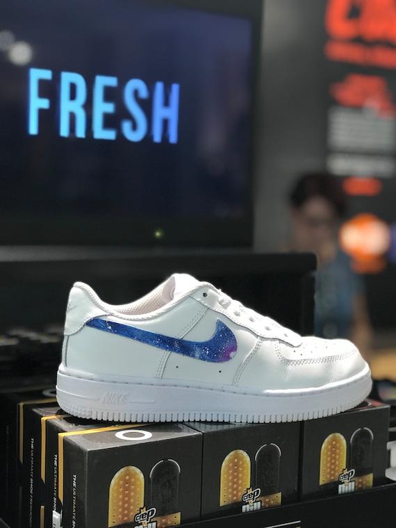 Nike Air Force 1 galaxy custom