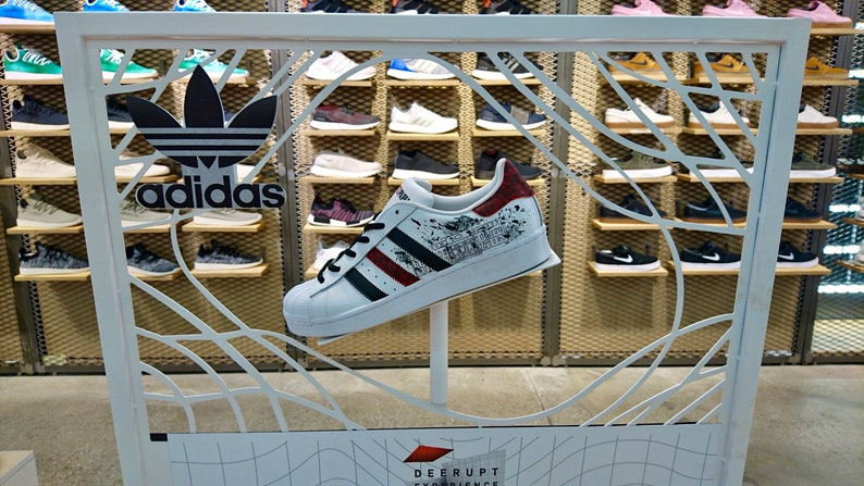 Superstar De Adidas Casa Custom Papel QrdBxWeCo
