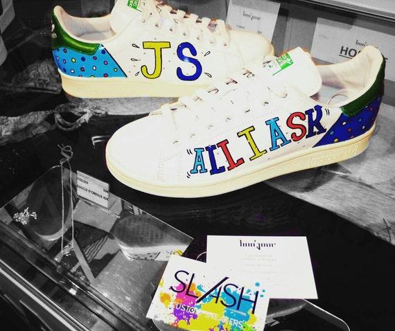 Adidas Stan Smith / / Custom-by Slash