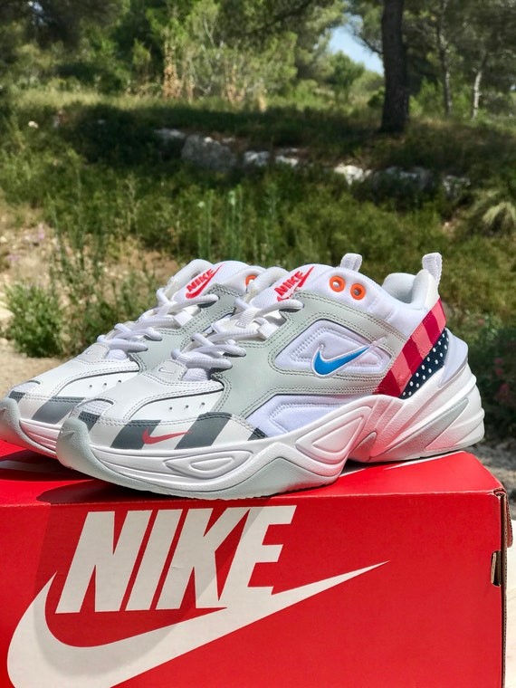 Nike M2K Tekno Parra custom | Etsy