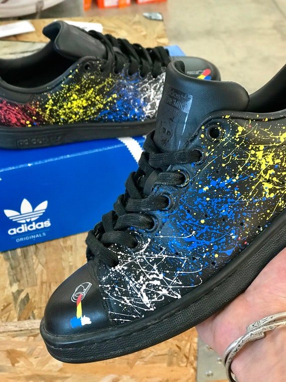 Adidas Stan Smith Paint CUSTOM