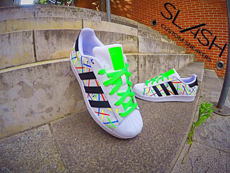 the best attitude 77bdc abfe0 Adidas Superstar Custom