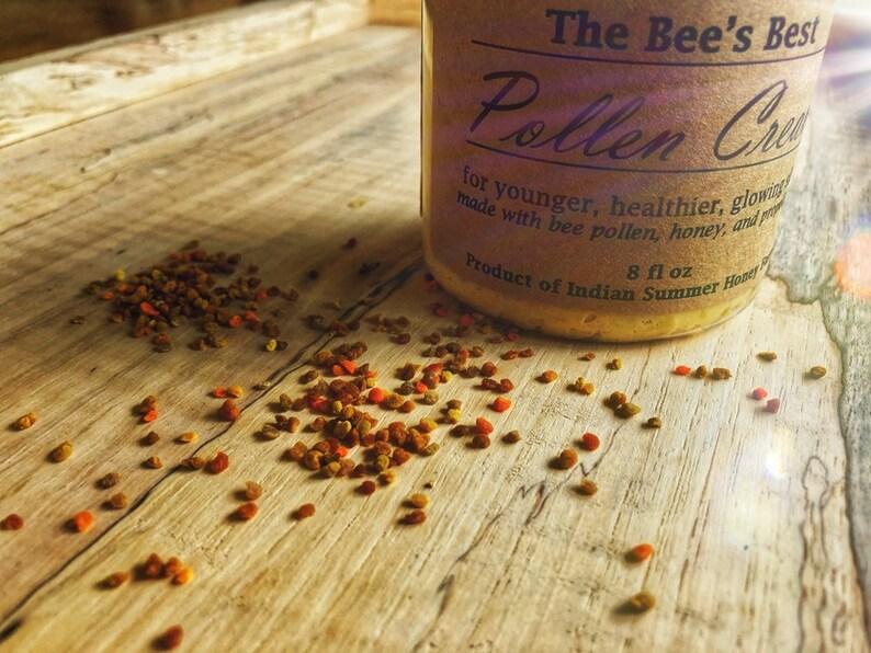 Pollen Cream. Best bee pollen honey propolis moisturizer image 0
