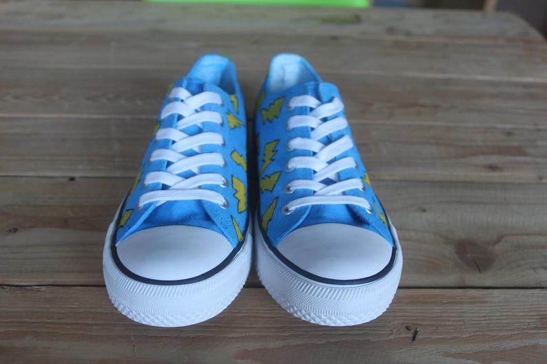 Fulmine bolt scarpe blu TPL7cc9Z