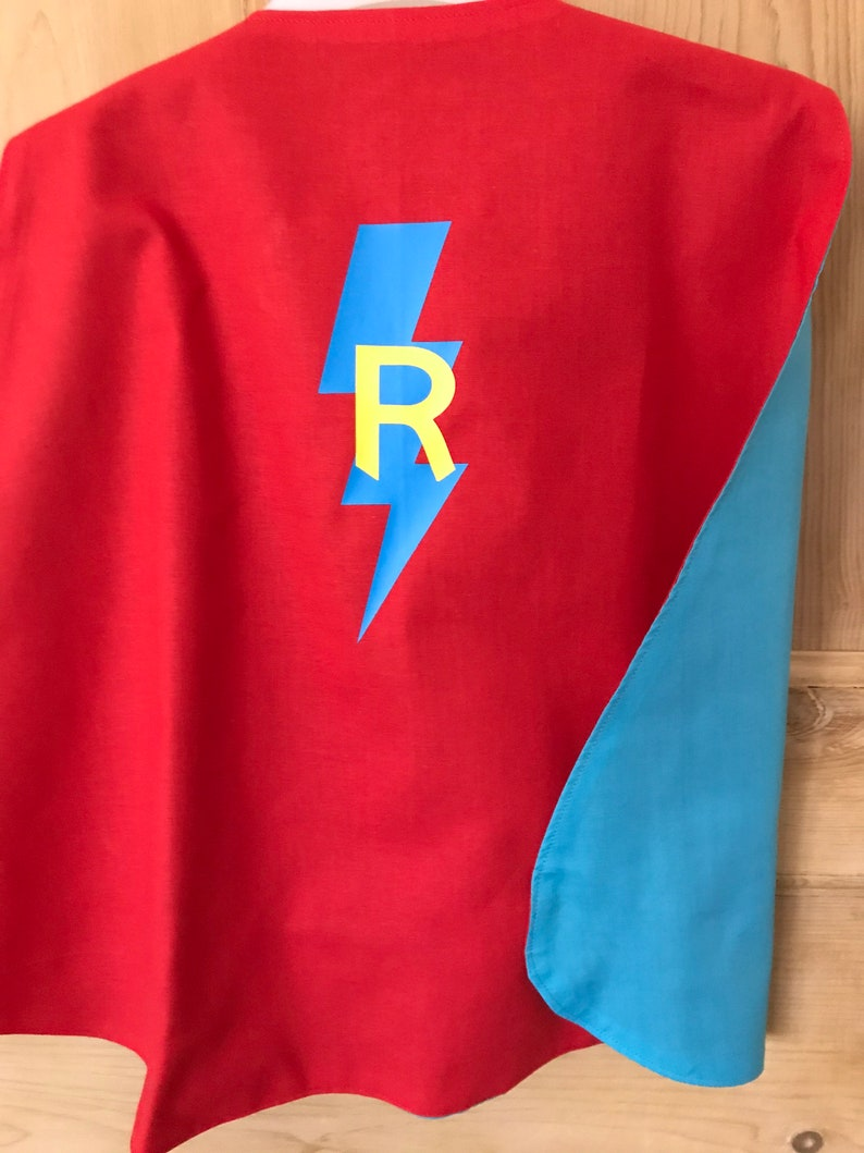 Personalised Children/'s Super Hero Cape Dressing Up Cape Children/'s Super Hero Cape Kids Costume Dressing Up Cape  Super Hero Cape