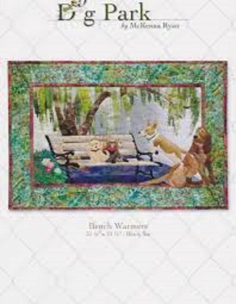 Bench Warmers Quilt pattern by McKenna Ryan