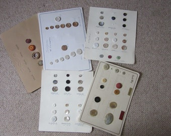 Retro Italian buttons - unusual and rare - old stock - batch 3