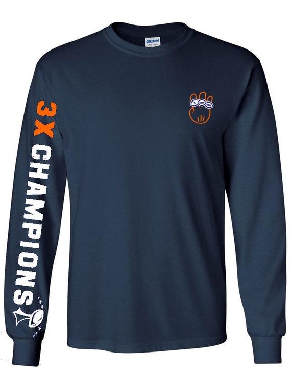 Broncos Shirt Denver Broncos Super Bowl Champions Shirt 3X  9891c1077