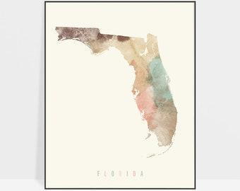 State Florida Map.Florida Map Etsy