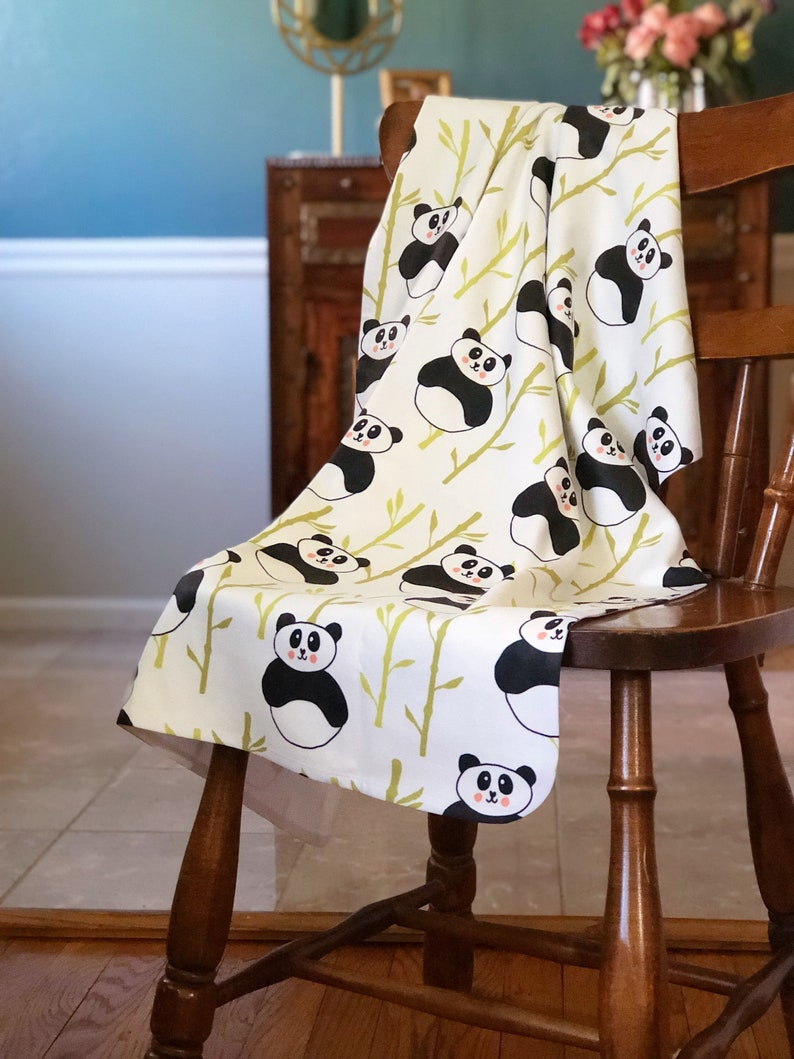 Soft Fleece Panda Blanket image 0