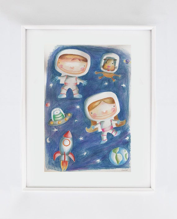 Outer Space Art Ideas For Preschoolers