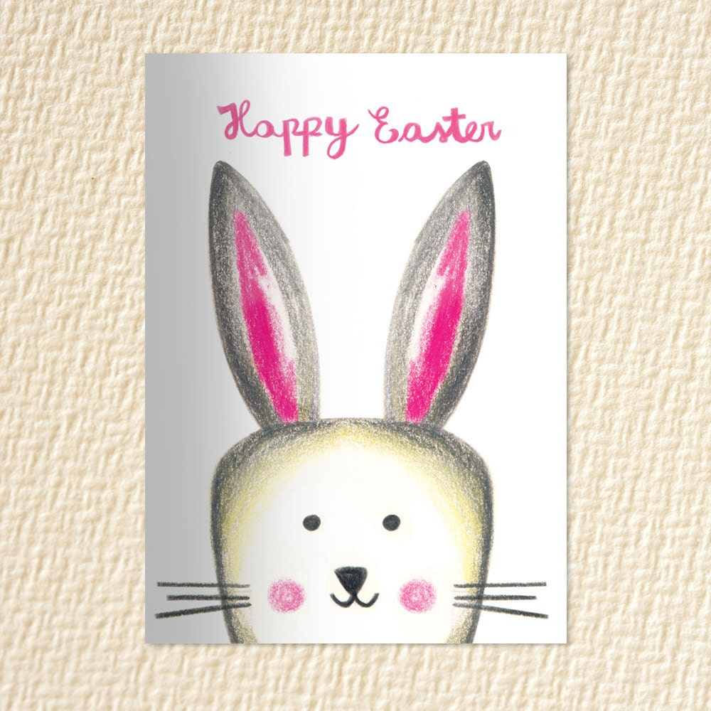 Easter Cards Easter Bunny Instant Download Easter Gift For Etsy