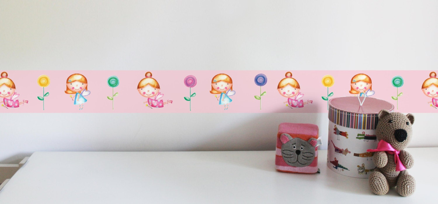 Fairy Decor Baby Fairy Godmother Peel And Stick Girls Wall