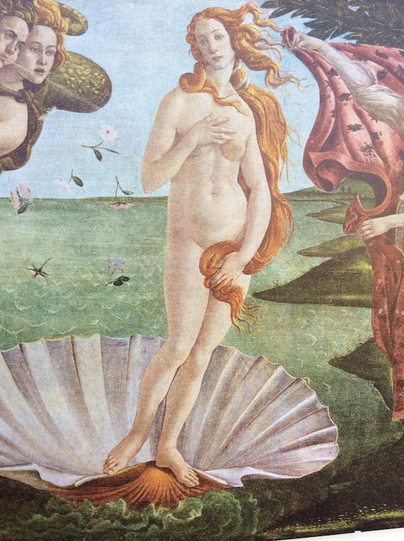 La Naissance De Venus Celebre Tableau Impression Historique Etsy