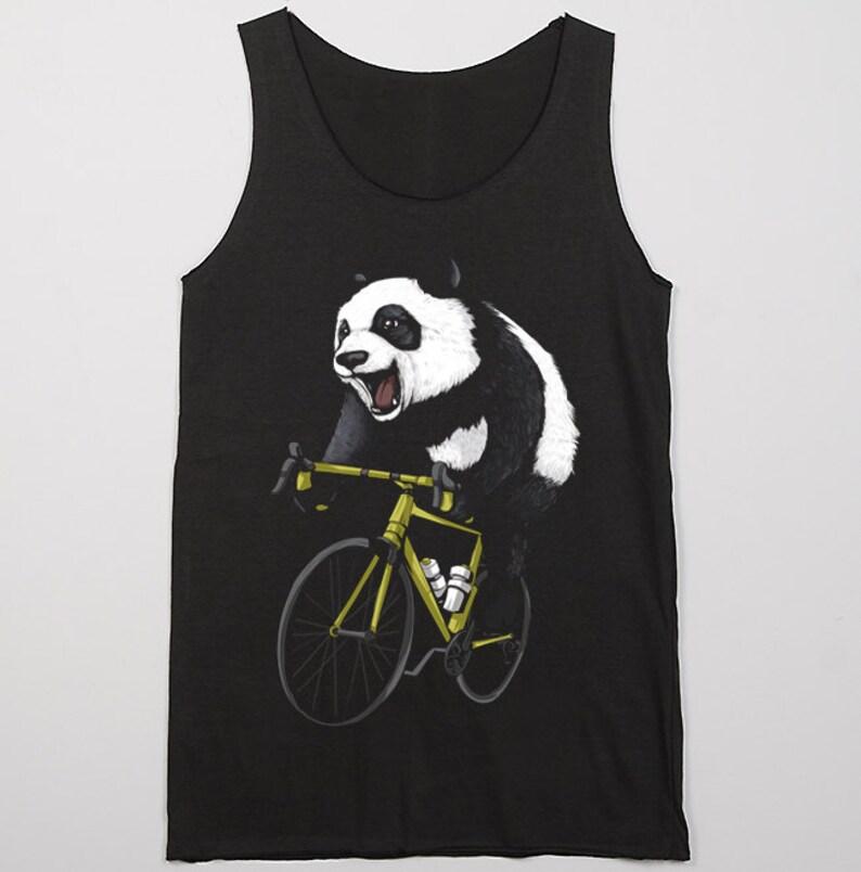 Giant Panda Ride Bike Bicycle Love Cycling Ailuropoda  d157d5f6b