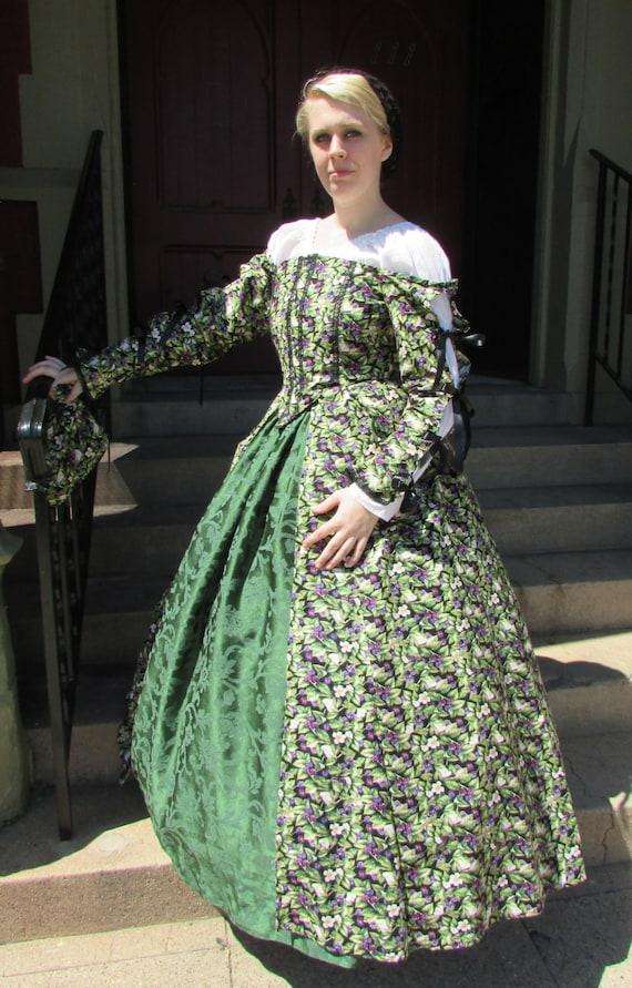 Tudor Gown | Etsy