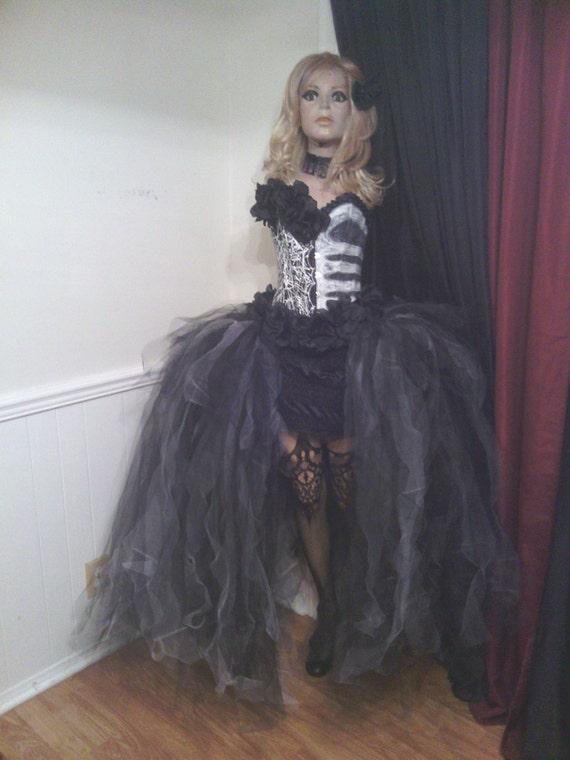 7547e5a681e2b Custom size Dia de Los Muertos costume, Day of the dead costumes, 3D  costume, corset costume, Steampunk, costumes, Halloween costume womens